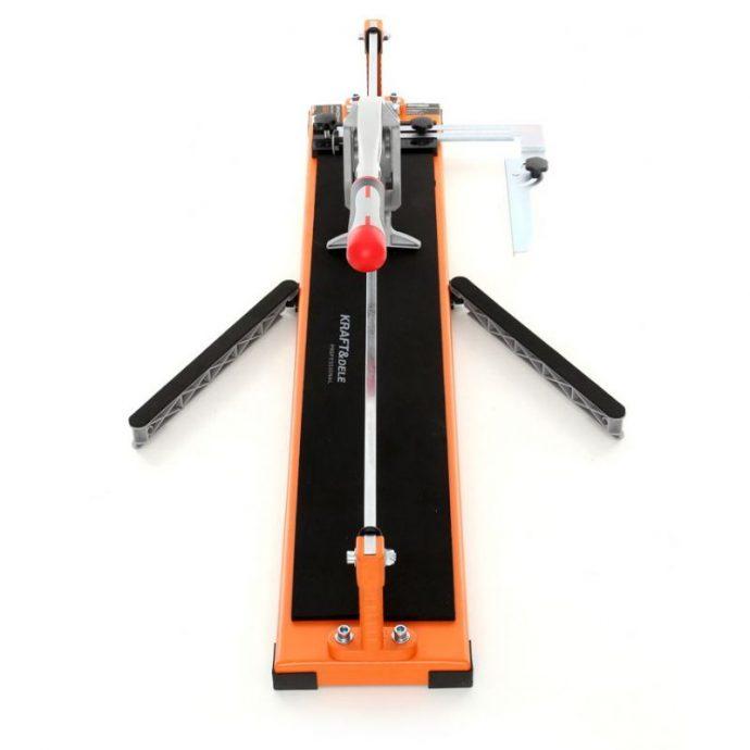 Stražnji prikaz profesionalnog rezača pločica 600 mm